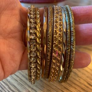 💥4/$10💥 Stackable Bangle Bracelet Lot